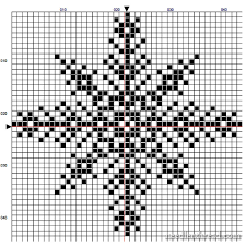 Free Cross Stitch Charts For Beginners Snowflake 2 Free Pattern For Your Winter Decor