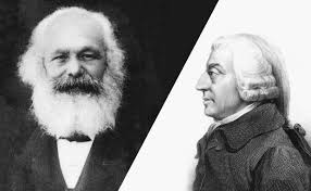 capital as power and class struggle explained by adam smith karl marx adam smith