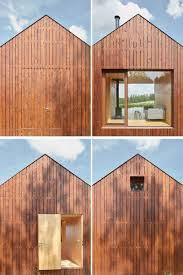 Wooden Cottage Design Traditional Fishermans Cabins Inspired The Design Of This