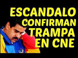 Resultado de imagen para fraude electoral venezuela