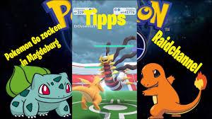 Pokemon Go - einfach raiden mit dem Raidchannel / Giratina Raid - YouTube