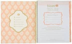 Daily Planners 2015 2020 Bloom Daily Planners 2016 17 Academic Year Vision Planner