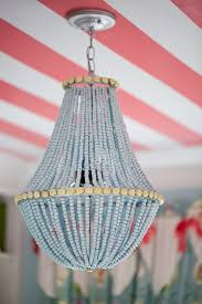 wood bead chandelier coastal home furnishings inspired by the