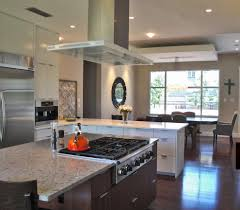 stove exhaust fan. stove exhaust fan kitchen contemporary with dark stained wood floor. image by: ppds