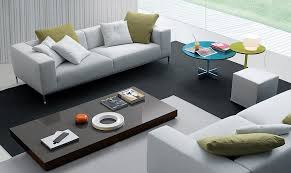 View in gallery Low slung coffee tables bring inimitable flair to the  living room