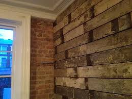 painted wall cladding reclaimed wood