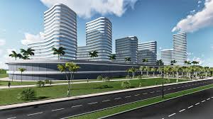 office building architecture design. Shopping MALL \u0026 Office Building, Mozambique Building Architecture Design