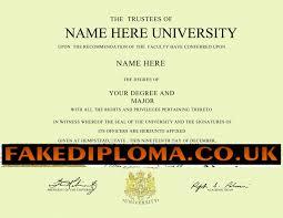 Degree Certificate Sample Copy New Fake Degree Certificate Sample ...