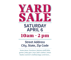 Free Flier Template Download This Yard Sale Flyer Template And Other Free
