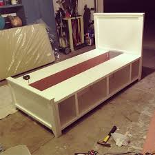 DIY twin bed built in 2 days Some needs to build this for my little
