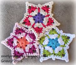 Star Crochet Pattern Unique Zooty Owl's Crafty Blog Granny Star Pattern
