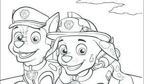Paw Patrol Printable Coloring Pages Coloring Pages For Kids Paw