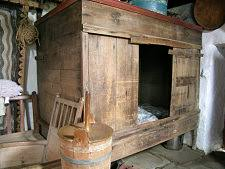 medieval bed in a box. Perfect Box In Scotland This Is Whatu0027s Known As A Box Bed Inside Medieval Bed A Box