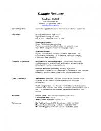 amusing how to write resume for high school student brefash how to write a resume in high school how to write a resume for high school