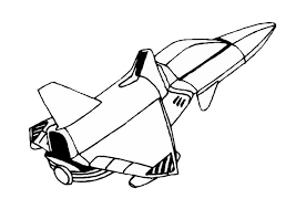 Disegno Da Colorare Navicella Spaziale Cat 8856 Images