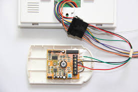 install and test gsm alarm systems tutorial for diy product news House Alarm Wiring Diagram wiring magnetic contact wiring pir motion sensor home alarm wiring diagram