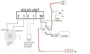 volvo fan swap jeepforum com i used 2 hella brand relay s from the junkyard out of an audi or something im not sure i run a 30amp 87 87a spdt single pole double throw relay to the