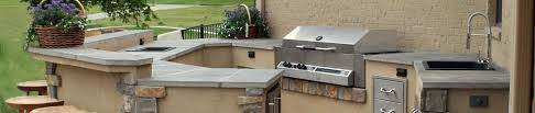 Cinder Block Outdoor Kitchen