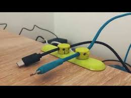 <b>BCASE</b> Tup <b>Magnet Cable Desktop</b> Organizer - YouTube