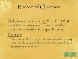 Rhetorical Questions In Essays Major Magdalene Project Org