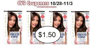 The top countries of supplier is china, from which the percentage. Clairol Nice N Easy Hair Color 1 50 At Cvs 10 28 11 3 Cvs Couponers