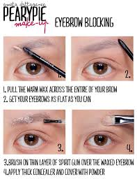 pearypie s tips about eyebrows