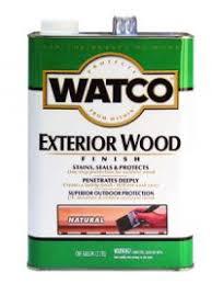 Защитное <b>масло для деревянных фасадов</b> и террас Watco (Ватко)