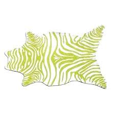 leaf shaped rug green zebra area rugs large mat hook new leaf shaped carpet