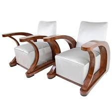 exceptional pair of art deco armchairs from lebanon circa 1920 from a unique collection