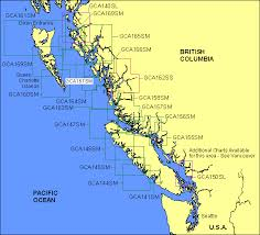 Garmin Offshore Cartography G Charts British Columbia