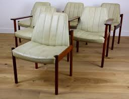 mid century modern dining chairs. mid century modern design rosewood dining chairs by sven ivar dysthe for mobler mid century modern dining chairs