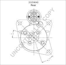 35259040 rear dim drawing