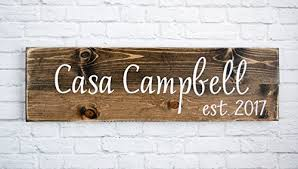 personalized family name sign personalized wedding gifts wall art rustic home decor custom wooden signs foto 1 on personalized wedding gifts wall art with paintings personalized family name sign personalized wedding gifts
