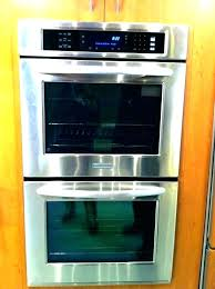 gas double wall oven ovens inch stainless steel single reviews maytag 24 a