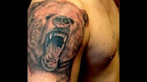 тату медведь значение и фото