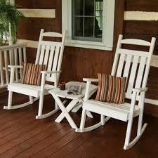 white wooden rocking chair.  White Classic White Wooden Rocking Chair  680 With