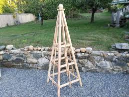 6 cedar obelisk 24 base sphere finials