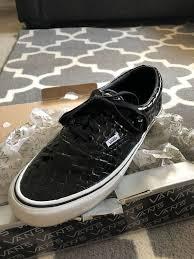 vans era 44 lx croc patent leather size 12