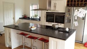 Kitchen Granite Worktop Steel Grey Granite Worktop In Leather Finish Feels Textured And
