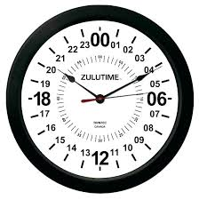 outdoor clock inch wall clocks large round dark black 24 with temperature and humidity cloc