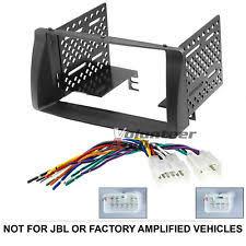 scosche car audio video dashboard installation kits for corolla toyota corolla double din car stereo radio install dash bezel kit wiring harness