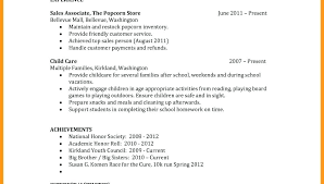 Example Resume Format – Tigertweet.me