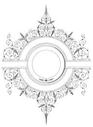 antique picture frames vector. Antique Picture Frames Vector