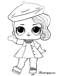 You can print the coloring page lol from our website or buy sets for creativity lol surprise. Lol Doll Coloring Pages Coloring Home
