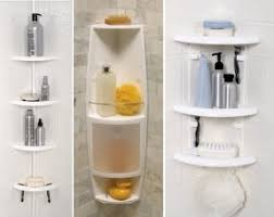 Plastic Corner Shower Shelves Plastic Corner Shower Caddy Foter 2