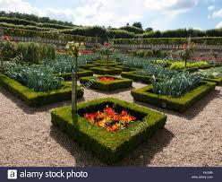 Kitchen Gardens Leeks Chilli Peppers In The Kitchen Gardens Chateau De Villandry