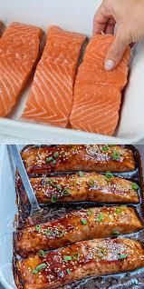 Baked Teriyaki Salmon [Video] | Recipe [Video] | Baked teriyaki salmon,  Salmon recipes, Food