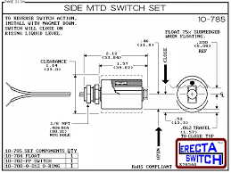 10 785 side mounted level switch set (polypropylene) compac Float Level Switch Wiring Diagram diagram 10 785 side mounted level switch set a unicellular split float converts the 3 Wire Float Switch