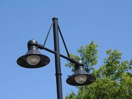 image of parking lot light fixtures option