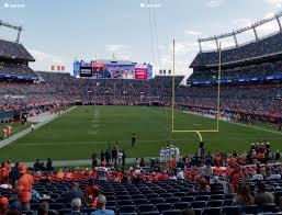 Broncos Stadium At Mile High Section 115 Seat Views Seatgeek